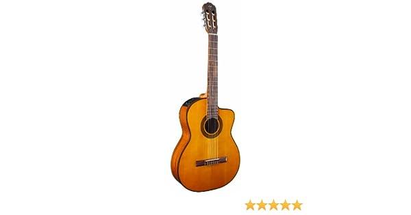 Takamine - Guitarra eléctrica de cuerpo sólido de 6 cuerdas, mano derecha, natural (GC1CENAT): Amazon.es: Instrumentos musicales