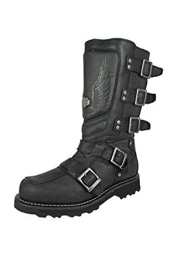 Schwarz Harley - Motocruz Davidson Black