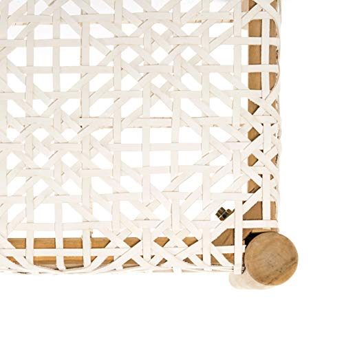 Safavieh BCH1000A Home Collection Bandelier Bench Off-White/Natural by Safavieh (Image #2)