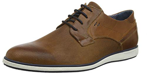 Hombre leather Derby Cordones Zapatos leather Tan Para Dune De Marrón Bamfield tan qOIzwxtY
