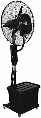Ventilador Con Difusor De Agua SEASON Ventilador nebulizador Exterior terraza Jardin Bar deposito Agua 40 litros: Amazon.es: Hogar