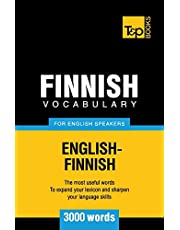 Finnish vocabulary for English speakers - 3000 words