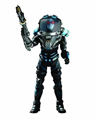 Dc Direct Batman Arkham City Mister Freeze Deluxe Action Figure from DC Direct