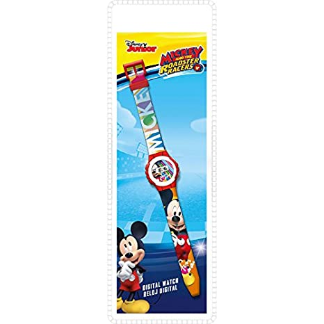 Mickey Mouse Smart Watch Armbanduhr KD-WD19647: Amazon.es: Juguetes y juegos