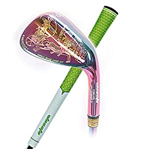 wosofe Egyptian Culture Right Handed Unisex Colorful Color 50/52/56/58/60 Degree Steel Shaft Golf Clubs Wedges