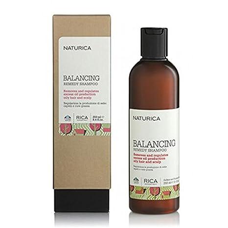 naturica Balancing Remedy Shampoo Cute y pelo grasas: Amazon ...
