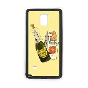 Samsung Galaxy Note 4 Cell Phone Case Black Sunday Funday (2) Sxwtq