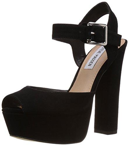 Black Jillyy Madden Shoes Women's Suede Steve wWSpHqfnv