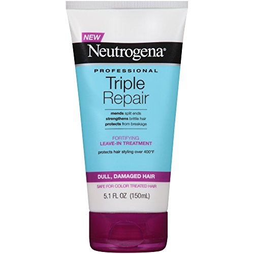 Neutrogena Triple Repair Fortifying Leave-In Treatment, 5.1 Fluid Ounce