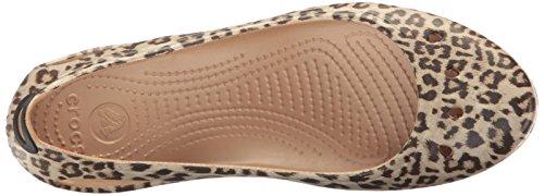 crocs Womens Kadee Graphic W Flat Leopard