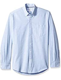 Men's Regular-Fit Long-Sleeve Pocket Oxford Shirt