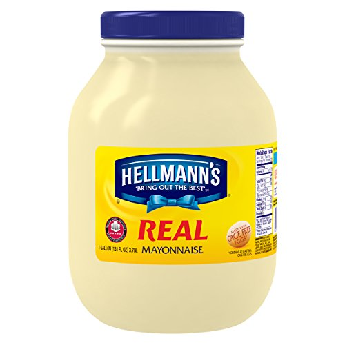 Hellmann's Mayonnaise Gallon Real 128 (Best Foods Light Mayonnaise)