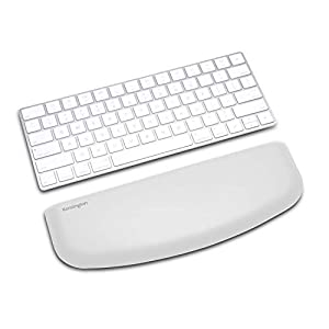 Kensington ErgoSoft Wrist Rest for Slim, Compact Keyboard-Gray