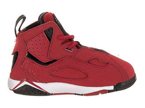 Nike Jordan True Flight BT Boys Basketball-Shoes 343797 Gym Red Black
