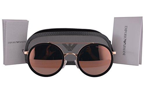 Emporio Armani Sunglasses Model (Emporio Armani EA2041 Sunglasses Matte Pink Gold w/Gray Mirror Rose Gold Lens 30044Z EA)