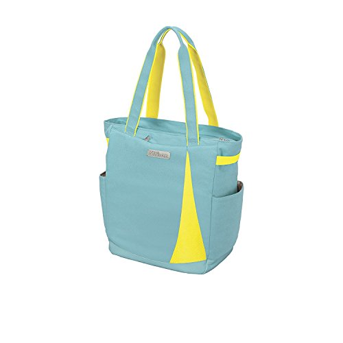 Tennis Tote Bag - Wilson Women's Collection Women's Tote, Blue/Yellow