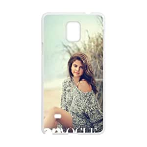 HXYHTY Customized Selena Gomez Hard Cover Case For Samsung Galaxy Note 4