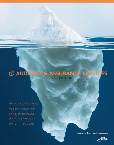 Auditing & Assurance Services, 4th Edition