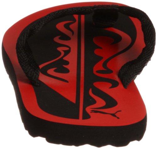 Puma, Ciabatte da spiaggia bambini ROSSO rosso/nero, rosso/nero, N-32
