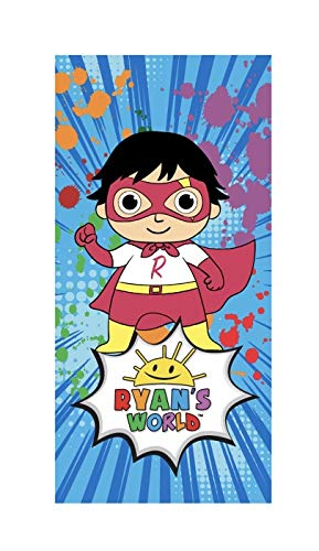 Red Titan Ryans World Kids Beach Towel