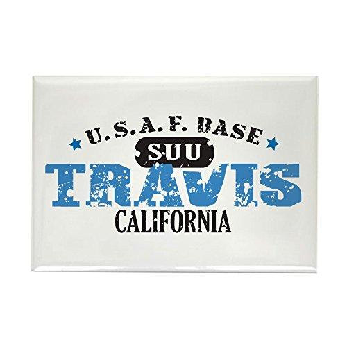 CafePress Travis Air Force Base Rectangle Magnet, 2