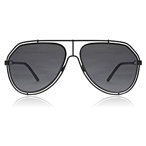 Dolce & Gabbana Unisex DG2176 Black/Grey Sunglasses