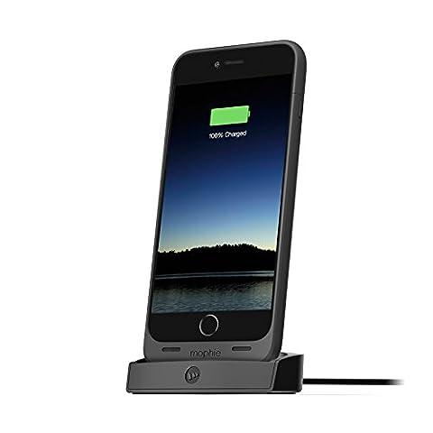 mophie juice pack desktop dock for iPhone 6 Plus/6s Plus - Black (Certified Refurbished) (Dock Plus For Iphone 6)