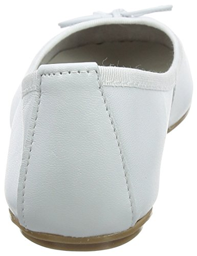 Leather Tamaris Ballerine 22165 White Donna Bianco qUOqC