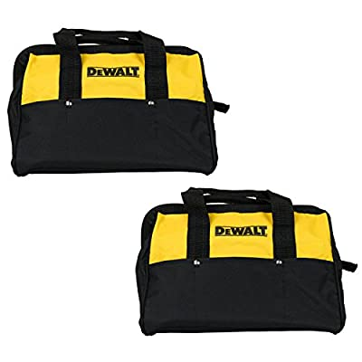 "Dewalt 13"" Mini Heavy Duty Contractor Tool Bag (2 Pack)"