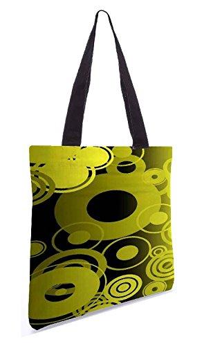 Snoogg Shopping Bag 13.5 X 15 Pollici Shopping Utility In Tela Di Poliestere