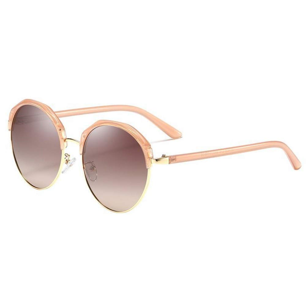 Brown CFBD Sunglasses Women Sunglasses Polarized Cat Eye Alloy Ladies Sun Glasses Driver Driving Mirrors color Glasses