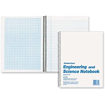 "Amazon.Com : National Engineering & Science Notebook, White, 11"" X"