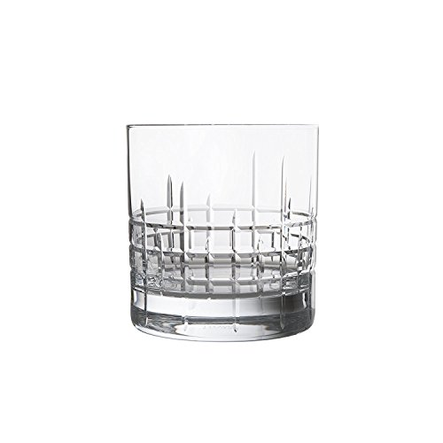 Schott Zwiesel Tritan Crystal Glass Distil Barware Collection Aberdeen DOF Old Fashioned Cocktail Glasses (Set of 2), 13.5 oz, Clear