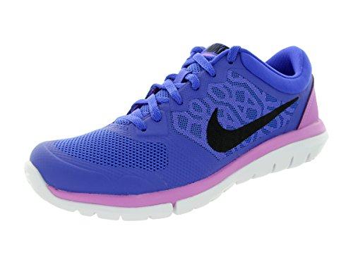 Nike Wmns Flex 2015 Rn, Chaussures de Running Femme Violet - Morado (Prsn Violet / Blk-Fchs Glw-White)