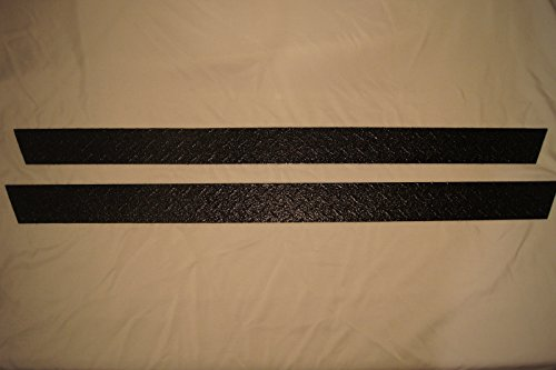 Diamond Plate Side Covers - jeeperscreepers 1997-2006 JEEP TJ WRANGLER BLACK DIAMOND PLATE 3 1/2 INCH ROCKER PANEL SIDE COVERS GUARDS HIDES RUST AND DAMAGE !!!