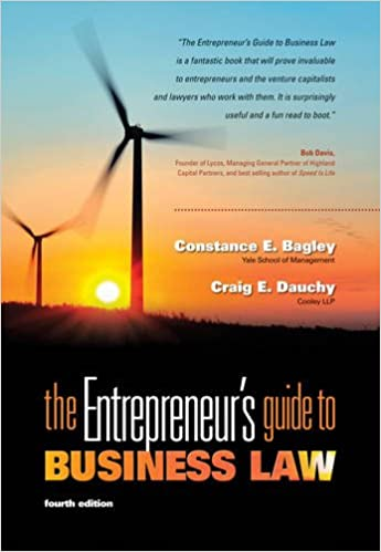 Business Plan Book - The Entrepreneur's Guide to Business Law, 4th Edition