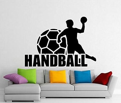 Balón de balonmano deportes de vinilo pared adhesivo Home Interior ...