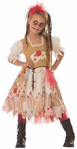 Girls Voodoo Doll Costume (Rubie's Voodoo Girl Child's Costume,)