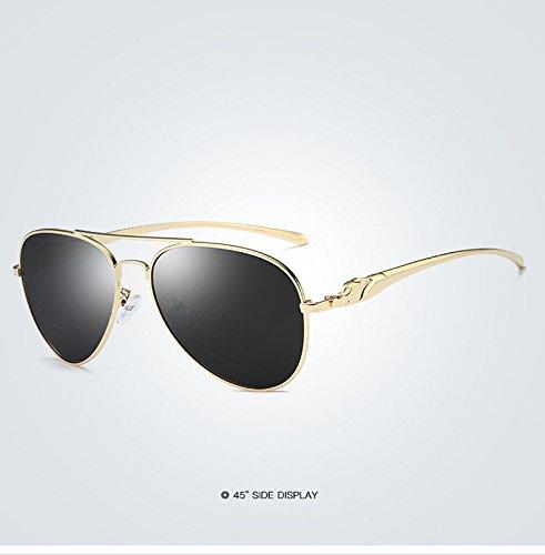 Sol Adultos para Sol Gafas 4 polarizadas Nuevo Marca Espejo de Gafas diseño Sol clásico para Mujeres de de Gafas Retro de de conducción de Ruanyi q7I06St0