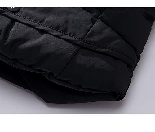 Costume Veste Manteau Black Slim black Détachable Capuchon Homme l Étudiant Nouveau Hiver Adong À Casquette Coton Cwt8XqZ