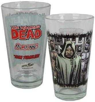 El Comic Walking Dead Michonne Toon Vaso Vaso de una pinta: Amazon.es: Electrónica