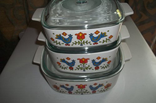 Corning Ware Country Festival 6 Piece Set