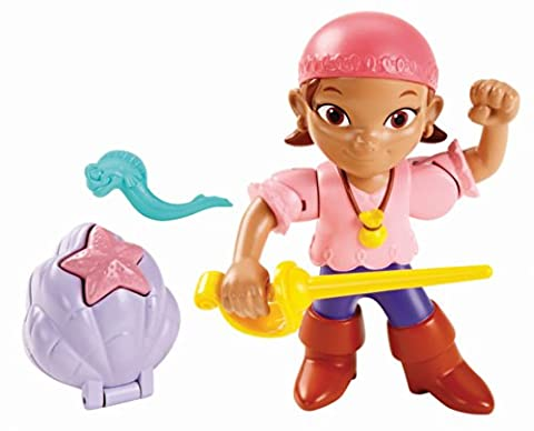 Fisher-Price Jake and The Never Land Pirates Action Figure Pack - Izzy (Buccaneer Battling Jake)