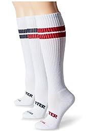 Starter womens standard 3-pack Under-knee Striped Tube Socks
