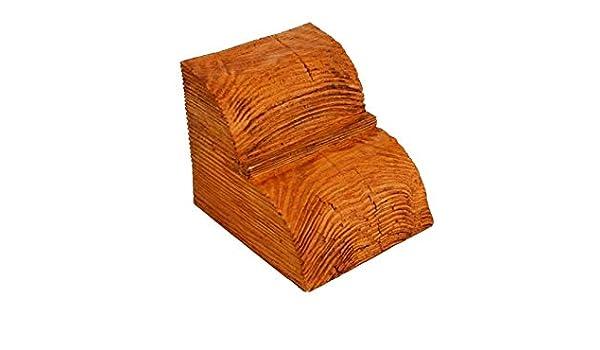 1 consola de poliuretano, aspecto de madera, madera decorativa, 120 x 120 mm, ED016: Amazon.es: Bricolaje y herramientas