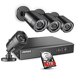ANNKE 8CH H.264+Security Camera System w...