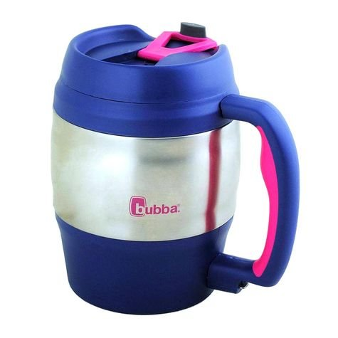 52 Ounce Keg - Bubba 1953388 Keg Beverage Holder Assorted Colors, 52 Oz, Black/Navy