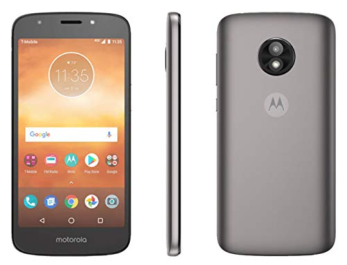 (Motorola Moto E5 Play 5.2in XT1921-3 T-Mobile 16GB Smartphone Android - Silver (Renewed))