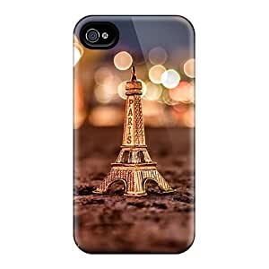 Premium Eiffel Back Cover Snap On Case For Iphone 4/4s