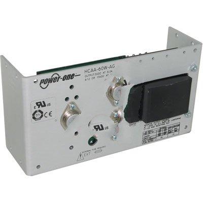 Bel Power Solutions HCAA-60W-AG, Power Supply; AC-DC; 5V@6A, 12V@1A, -5V@0.4A; 100-264V In; Open Frame; Panel Mnt; Linear